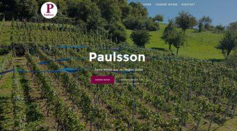 Web Visitenkarte, One Page
