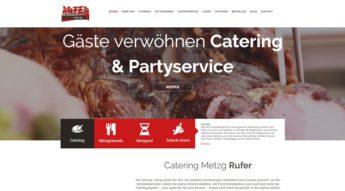 Webseite Metzgerei Referenz