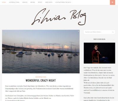 silvias blog