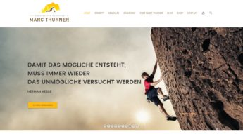 Homepage Marc Thurner