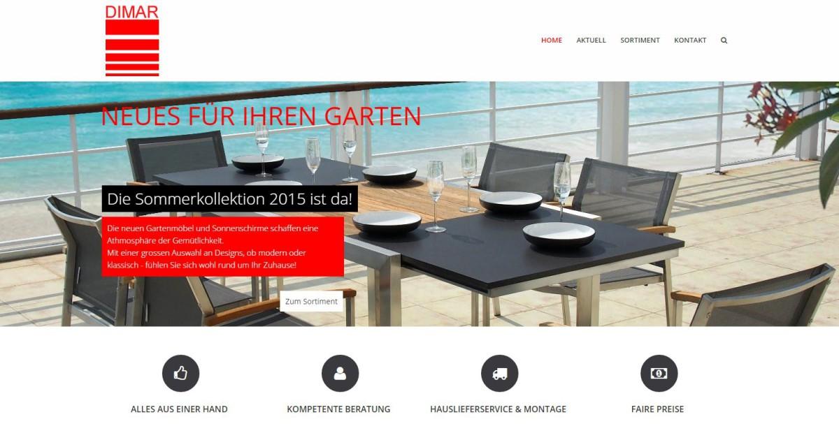 Responsive Webseite Dimar