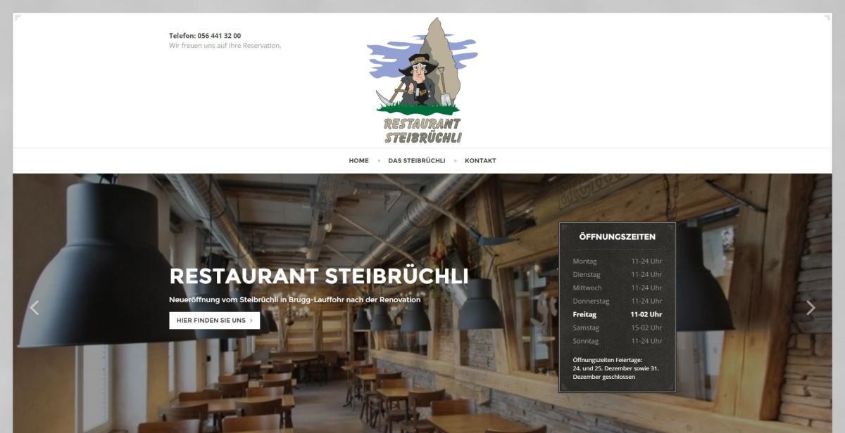 OnePage Restaurant Steibruechli